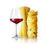Red Wine, Pasta