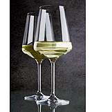 Weinglas, Weißwein