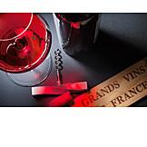 Wein, Rotwein, Französisch
