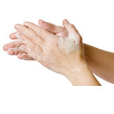 Hands, Lather, Washing Hands