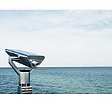 Sea, Telescope, Vision