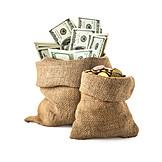 Money, Cash, Money Bag