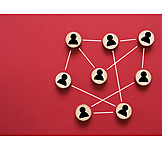 Teamwork, Network, Contact, Networking