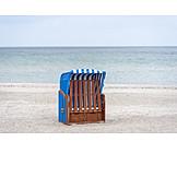 Beach chair, Locked