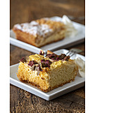 Rhubarb cake, Sheet cake