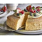 Breakfast, Cake, Biscuit