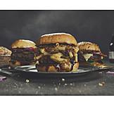 Fast food, Cheeseburger, Burger