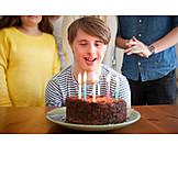 Birthday, Disability, Birthday Cake, Trisomy 21