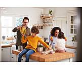 Zuhause, Einkauf, Familie