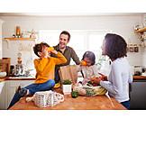 Kitchen, Shopping, Unpacking, Family Life