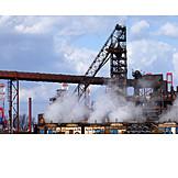 Industry, Steel Mill, Steel Production