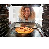 Baked Meal, Oven, Tart, Pie