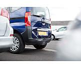 Car, Car Body Damage, Stern