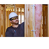 Construction Worker, Building Construction, Insulation, Thermal Insulation