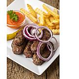 Cevapcici, Balkanküche, Fleischröllchen