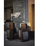 Television, Garbage, Electronic Scrap