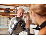 Active Seniors, Martial Arts, Boxing