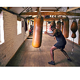 Sports training, Boxing, Boxer