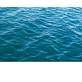 Sea, Wave, Water Surface