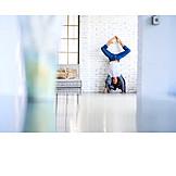 Fitness, Yoga, Hand Stand