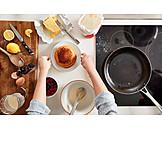 Preparation, Ingredient, Pancakes, Pancakes