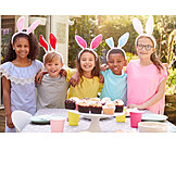 Easter, Easter Celebration, Muffin, Friends, Dining Table