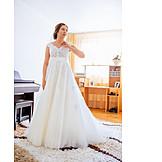 Wedding, Bride, Wedding Dress
