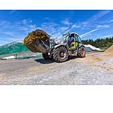 Agriculture, Excavator, Vehicle