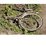 Bicycle, Weathered, Rusty