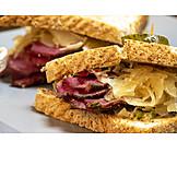Amerikanische Küche, Reuben Sandwich