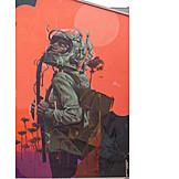 Art, Mural, Streetart