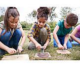 Kinder, Feuer Machen, Waldpädagogik