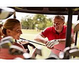 Leisure, Communication, Golfer