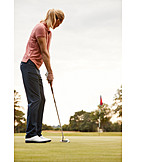 Concentration, Putting, Golf