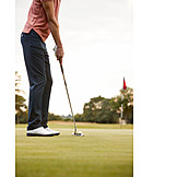 Golf Course, Putting, Golf Ball, Golfing
