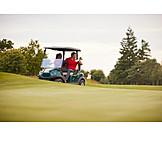Golf, Golf Course, Golfer, Golf Cart
