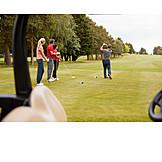 Golf Course, Teeing Off, Golfing, Golfer