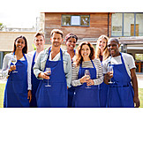 Wine, Cooking School, Group Picture