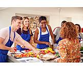 Healthy Diet, Preparation, Cooking Class, Participant
