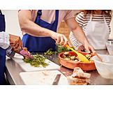 Zutaten, Zubereiten, Teilnehmer, Brotsalat