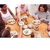 Food, Together, Friends