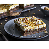 Brownie, Caramel, Cake