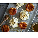Dessert, Peach, Roasting