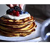 Berries , Breakfast, Dessert, Pancakes