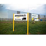 Logistik, Lagerhalle, Amazon