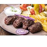 Cevapcici, Balkan Cuisine, Meat Roll