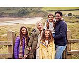 Familie, Ausflug, Multikulturell