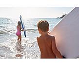 Surfen, Kinder, Bodyboard