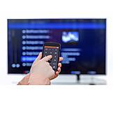 Tv, Smart Phone, Remote