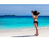 Beach, Vacation, Bikini